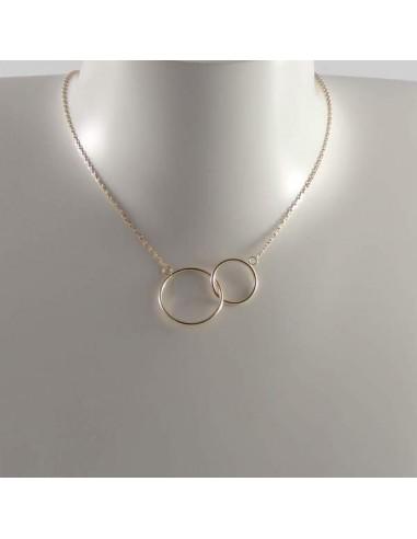 collier 2 anneaux