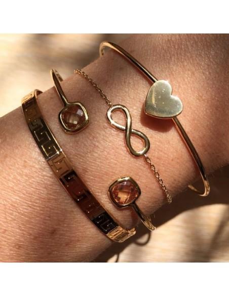 Bracelet chaine argent mini Rosasse