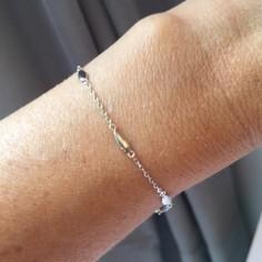 Chain bracelet silver 925 olivettes
