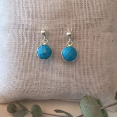Turquoise earrings silver 925