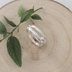 Marine link ring silver 925