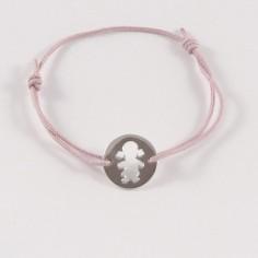 Bracelet enfant Fille argent ajouré