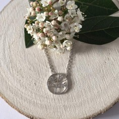 Tree of life chain necklace silver 925