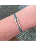 Child silver 925 small link cord bracelet