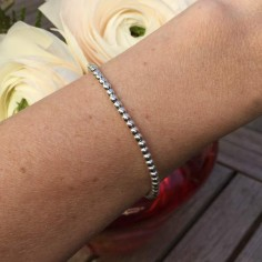 Elise bracelet silver 925 small beads