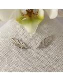 Silver 925 feathe...
