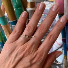Bangle ring silver 925