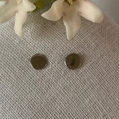 Small pastilles earrings silver 925