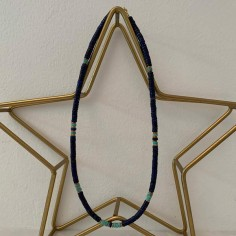 Heishi multicolored stones necklace
