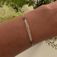 Silver 925 triple chains...