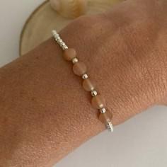Silver 925 bracelet with...