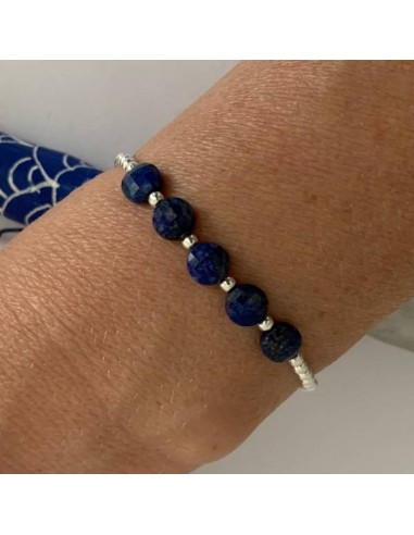Silver 925 bracelet with small beads...