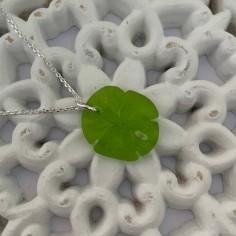 Silver 925 light green sand...