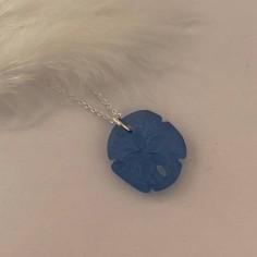 Silver 925 light blue sand...