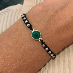 Cord bracelet macrame with...