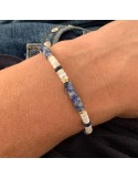 Blue jade and whi...