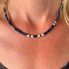 Lapis lazuli and mother of...