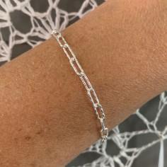 Silver 925 shiny rectangle...