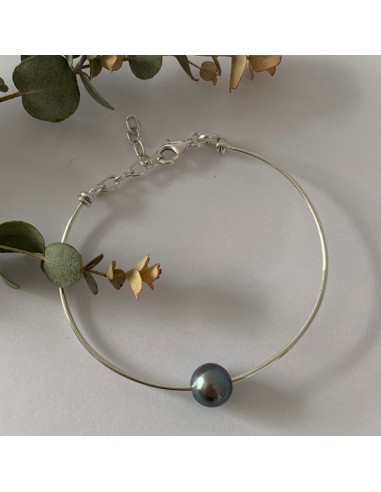 Silver 925 thin bangle bracelet with...