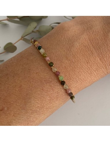 Gold filled thin bangle bracelet with...