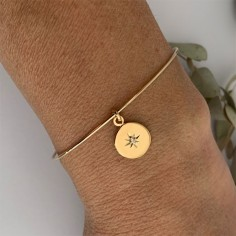 Gold filled thin bangle...