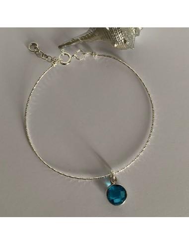 Silver 925 thin shiny bangle bracelet...