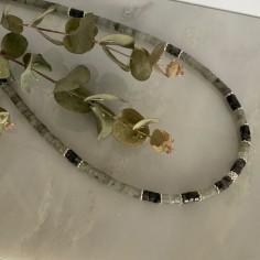 Labradorite Heishi necklace