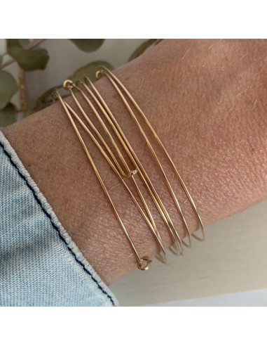 Gold filled thin bangles weekly...