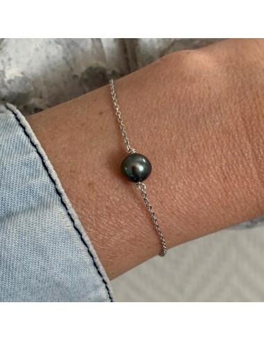 Silver 925 grey freshwater pearl...