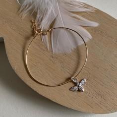 Gold filled thin bangle...