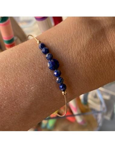 Gold filled thin bangle bracelet 7...