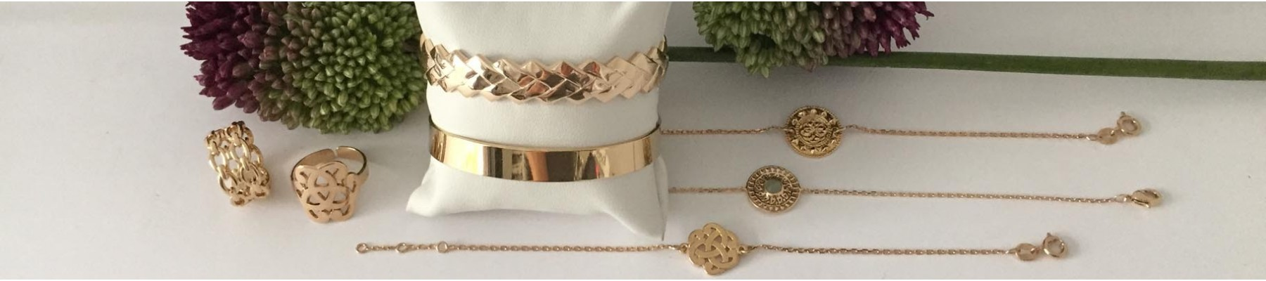 Elise B Gold plated jewels range